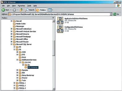 Рис. 10. Управление доступностью служб SQL Server 2005